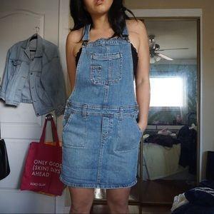 Dresses & Skirts - Denim overall skirt